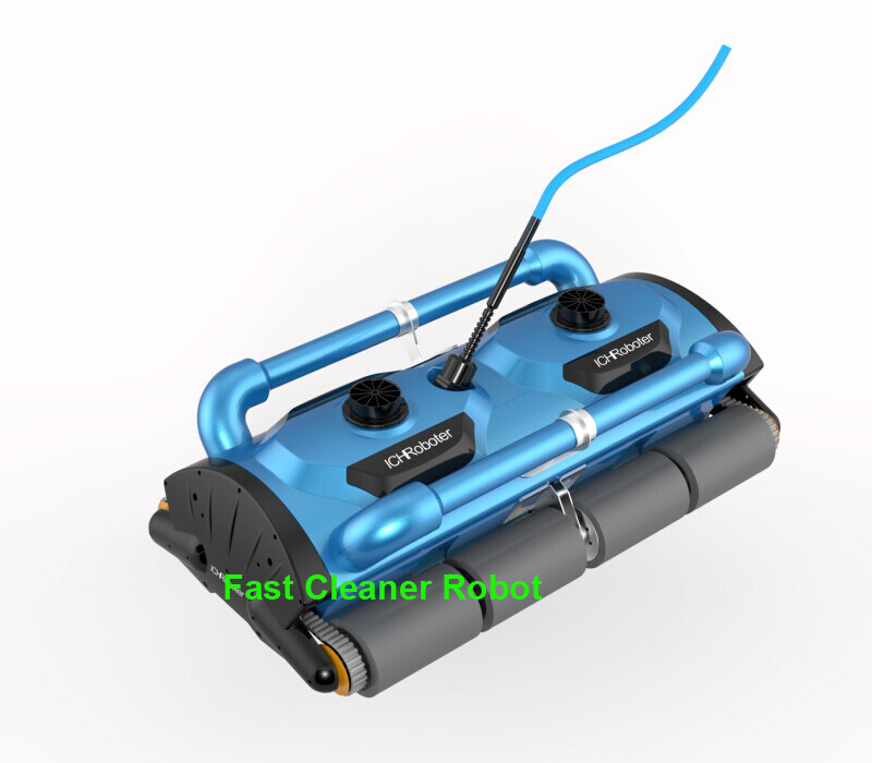 Commerical Use Robotic Automatic pool cleaner Icleaner-200D with 40m Cable For Big Pool