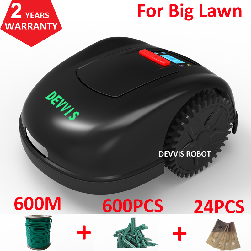 DEVVIS Robot Graden Tool E1600T For Big Lawn