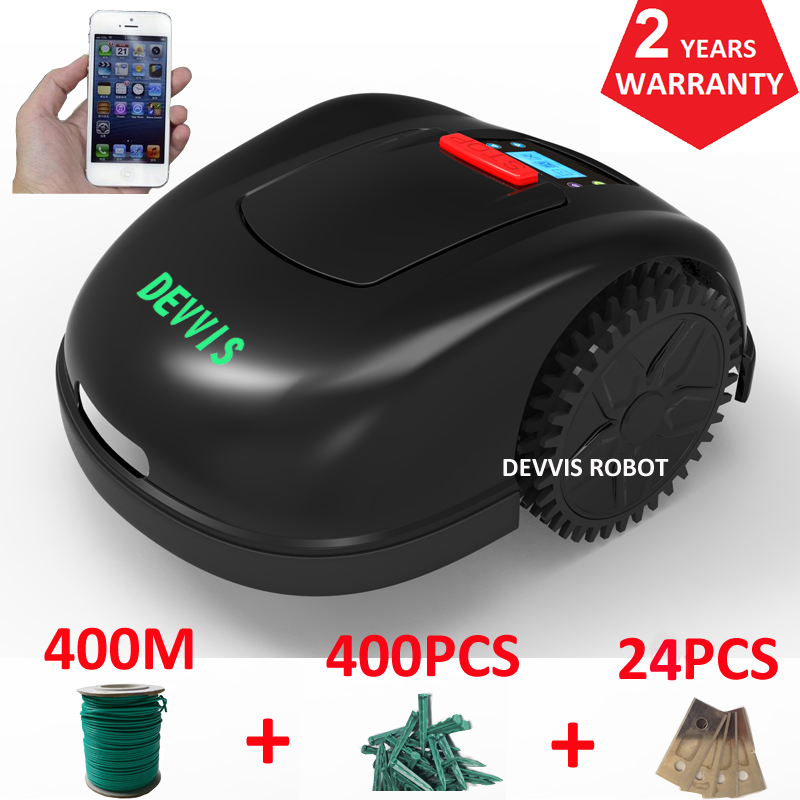 DEVVIS Robot Grass Mower E1600T For Big Lawn