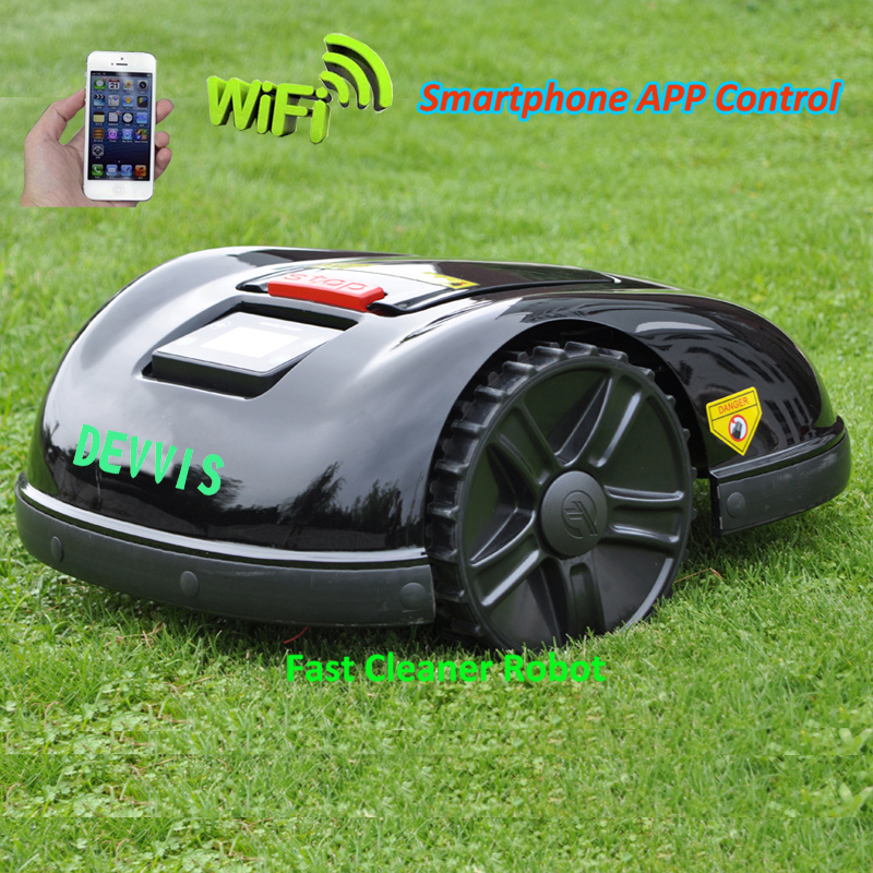 TWO Year Warranty China DEVVIS Robot Grass Cutter E1600T For Big Lawn