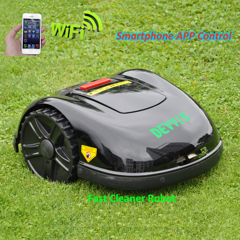 DEVVIS  Newest and Best 5th Generation DEVVIS Robot Lawn Mower E1600T Updated with NEWEST GYROSCOPE