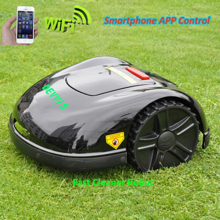 FBA Warehouse No TAX China DEVVIS Robot Lawn Mower E1600T with Big Powerful Battery
