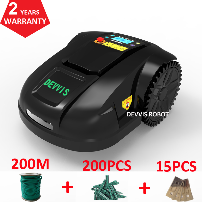 NEWEST Wi-Fi Smartphone App Control Automatic Robot Mower With Gyroscope Function